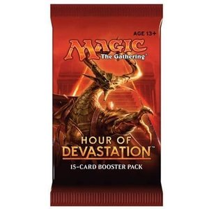 Magic the Gathering Hour of Devastation Booster Pack