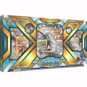 Pokemon TCG Sharpedo-EX Mega Premium Collection Box