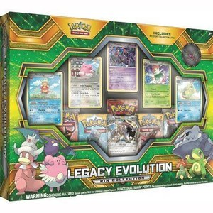 Pokemon TCG Legacy Evolution Pin Collection