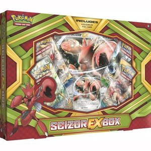 Pokemon TCG Scizor EX Box