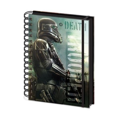 Star Wars Rogue One Schrijfblok A5 Death Trooper