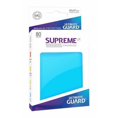 Ultimate Guard Supreme UX Sleeves Standard Size Light Blue (80)
