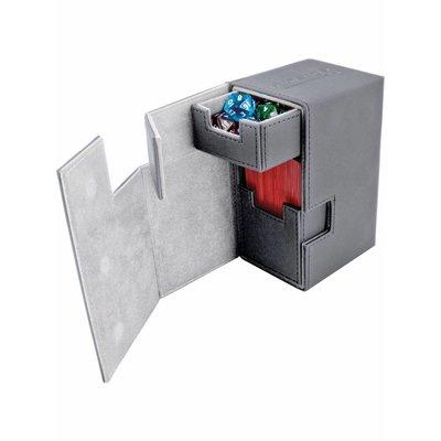 Ultimate Guard Flip'n'Tray Deck Case 80+ Standard Size XenoSkin Grey