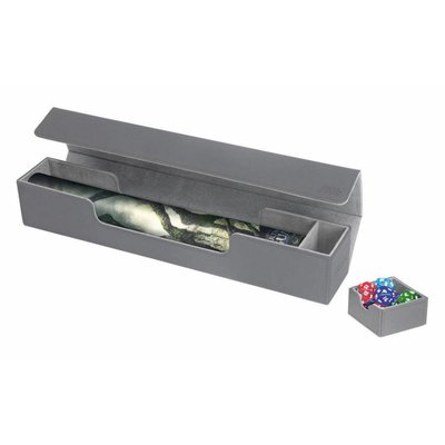 Ultimate Guard Flip'n'Tray Mat Case XenoSkin Grey