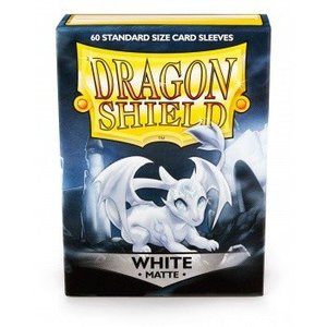 Dragon Shield Dragon Shield Standard Sleeves - Matte White (60 Sleeves)