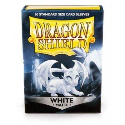 Dragon Shield Dragon Shield Standard Sleeves - Matte White (60 Sleeves)