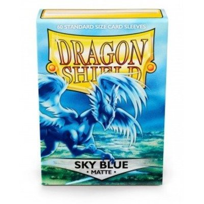 Dragon Shield Dragon Shield Standard Sleeves - Matte Sky Blue (60 Sleeves)