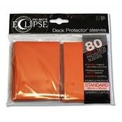 Ultra Pro PRO-Matte Eclipse Standard Sleeves - Orange (80 Sleeves)