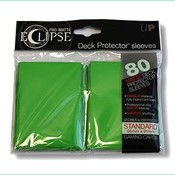Ultra Pro PRO-Matte Eclipse Standard Sleeves - Green (80 Sleeves)