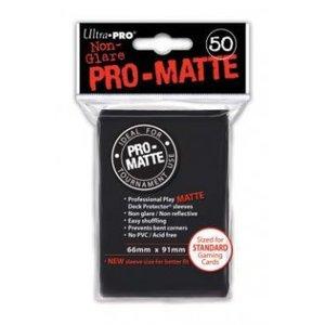 Ultra Pro Zwart Matte