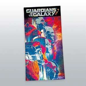 Guardians of the Galaxy Towel Characters 140 x 70 cm