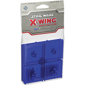 Star Wars X-Wing Blue Bases and Pegs Expansion Pack