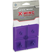 Star Wars X-Wing Purple Bases and Pegs Expansion Pack