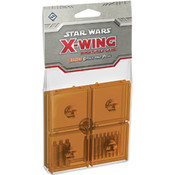 Star Wars X-Wing Orange Bases and Pegs Expansion Pack