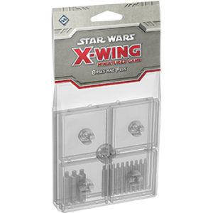 Star Wars X-Wing Clear Bases and Pegs Expansion Pack