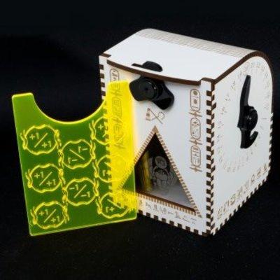 Blackfire Dice Egyptian Deck Box MTG WPN Exclusive