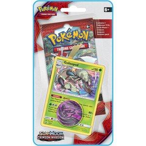 Pokemon TCG Golisopod Crimson Invasion 1-booster blister