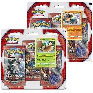 Pokemon TCG SET 3-Booster Promo Blisters Crimson Invasion