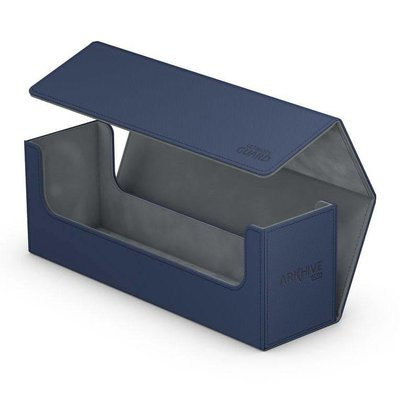 Ultimate Guard Arkhive Flip Case 400+ Standard Size XenoSkin & Trade Blue