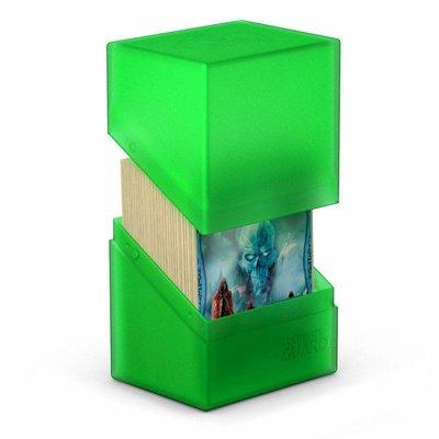 Ultimate Guard Boulder & Trade Deck Case 80+ Standard Size Emerald