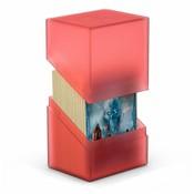 Ultimate Guard Boulder & Trade Deck Case 80+ Standard Size Ruby
