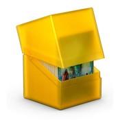 Ultimate Guard Boulder & Trade Deck Case 100+ Standard Size Amber
