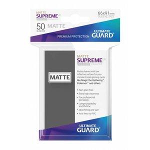 Ultimate Guard Supreme UX Sleeves Standard Size Matte Dark Grey (50)
