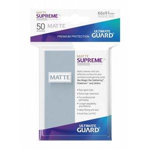 Ultimate Guard Supreme UX Sleeves Standard Size Matte Transparent (50)
