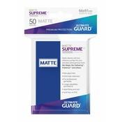 Ultimate Guard Supreme UX Sleeves Standard Size Matte Blue (50)