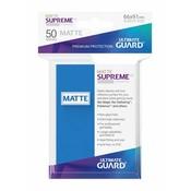 Ultimate Guard Supreme UX Sleeves Standard Size Matte Royal Blue (50)