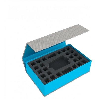 Feldherr Magnetic Box blue for Star Wars Destiny - 2 Decks and 48 Dice