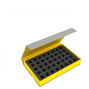 Feldherr Magnetic Box yellow for Star Wars Destiny - 40 dice
