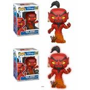 Funko POP! Aladdin POP! Vinyl Figures Red Jafar As Genie 9 cm