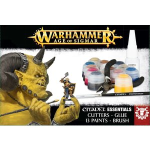 Games Workshop Age Of Sigmar Citadel Essentials Set Eng