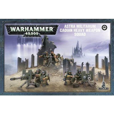 Games Workshop Cadian Heavy Weapon Squad