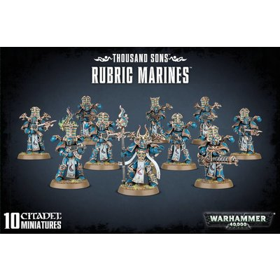Games Workshop Thousand Sons Rubric Marines