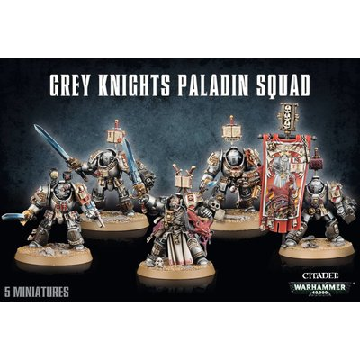 Games Workshop Grey Knights Paladin Squad