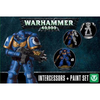 Games Workshop Intercessors + Paint Set