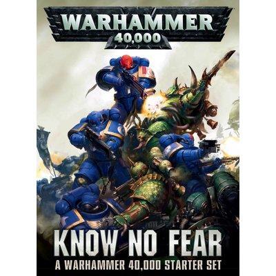 Games Workshop Warhammer 40000: Know No Fear (ENGLISH)