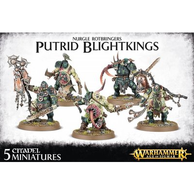 Games Workshop Nurgle Rotbringers Putrid Blightkings