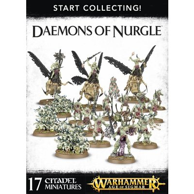 Games Workshop Start Collecting! Daemons Of Nurgle