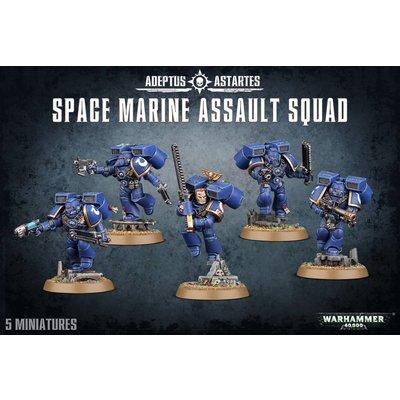 Games Workshop Space Marine Assault Squad