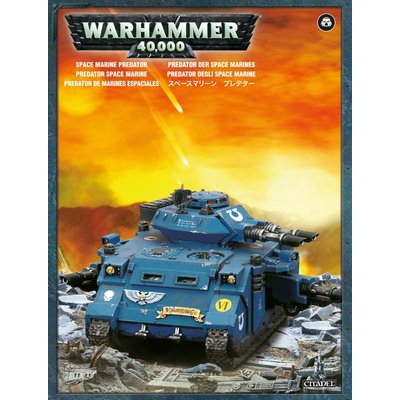 Games Workshop Space Marine Predator