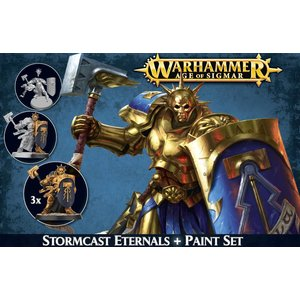 Games Workshop Stormcast Eternals + Paint Set