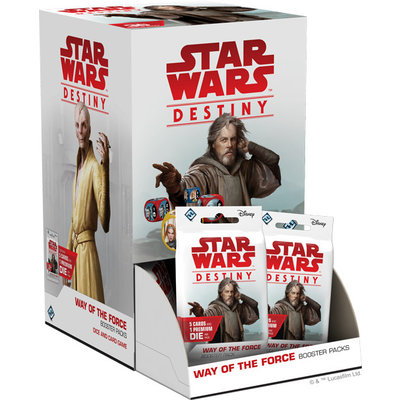 Star Wars Destiny Star Wars Destiny: Way of the Force Booster Box