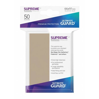 Ultimate Guard Supreme UX Sleeves Standard Size Sand (50)