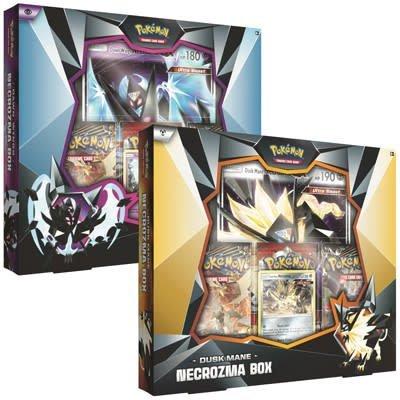 Pokémon TCG SET Dusk Mane Necrozma / Dawn Wings Necrozma Boxes