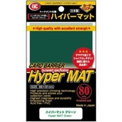 KMC Standard Sleeves - Hyper Mat Green (80 Sleeves)