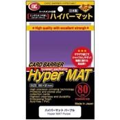 KMC Standard Sleeves - Hyper Mat Purple (80 Sleeves)