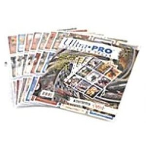 Ultra Pro 9-Pocket Pages (11 Hole) Aanvulverpakking (10 Paginas)